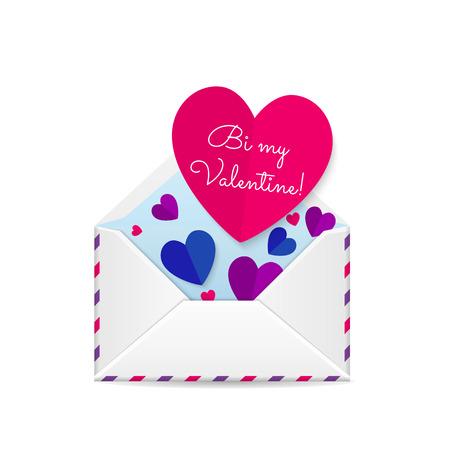 bisexual: Valentines bisexual card