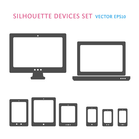 Device icons set