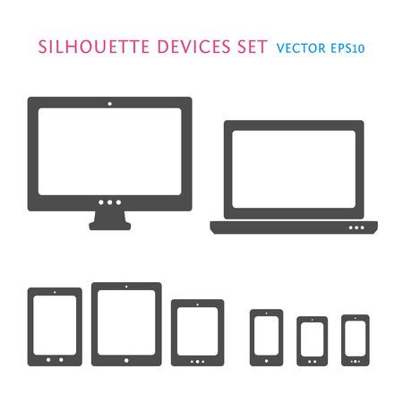 Device icons set