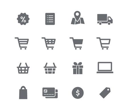 온라인 쇼핑 아이콘