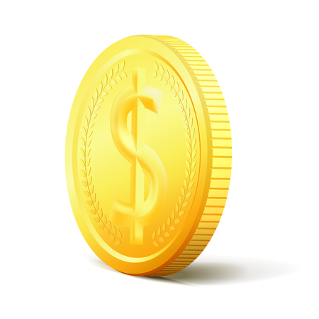 dollar coins: Exchange Money. Bunch of coins