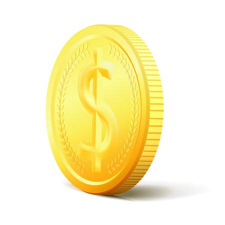 golden coins: Exchange Money. Bunch of coins
