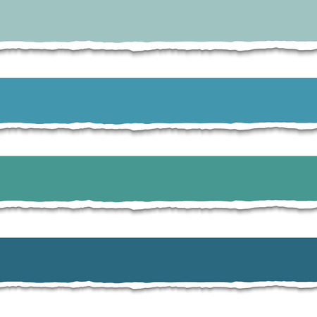 torn paper edges: Torn paper with ripped edges, set of vector colorful torn paper web banners with space for text. Torn paper design template for infographics and websites. Pieces of torn paper