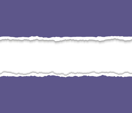 torn paper edges: Torn paper with ripped paper edges. Torn paper frame for text.  Vector colorful torn paper background with white copyspace and ripped torn paper edges.