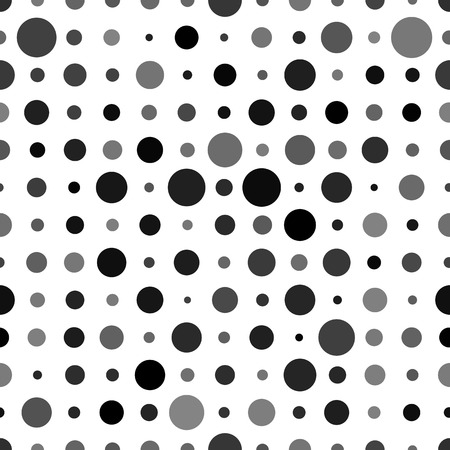 opacity: Abstract background with black circles random opacity isolated on white. Seamless polkadot pattern.
