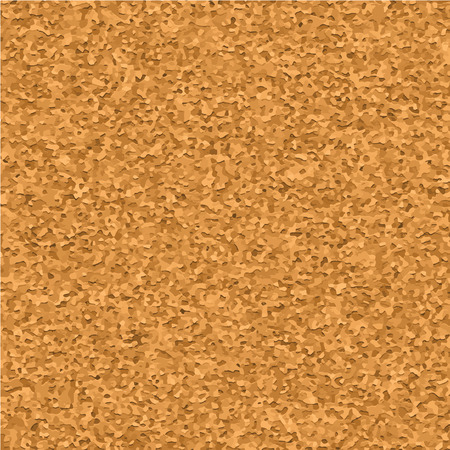 noticeboard: Cork board texture realistic vector seamless pattern, close up. Empty corkbord background for notes and reminder Illustration