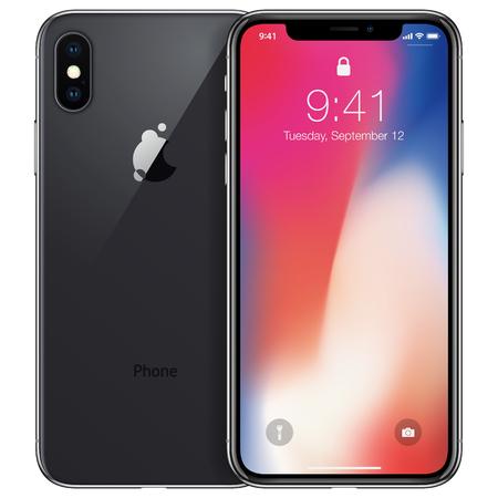 Nouveau téléphone avant et dessin vectoriel noir format eps10 isolé sur fond blanc