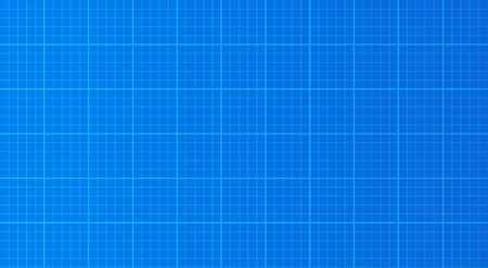 Blueprint paper background texture vector illustration technical drawing