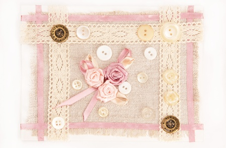 greeting card with bunch of rose flowers