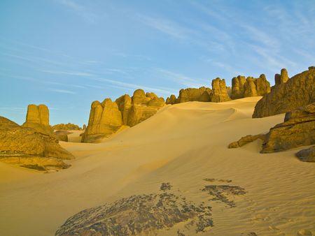 algerian desert photo
