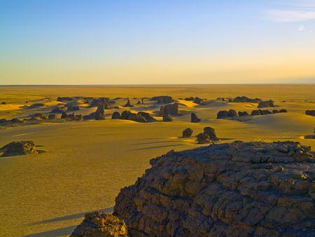 climatic: algerian desert