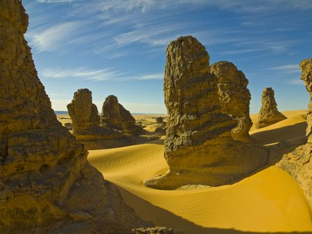 Algierski: Sahara algierska