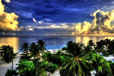 holguin: Tropical Beach in Cuba, Holguin,HDR