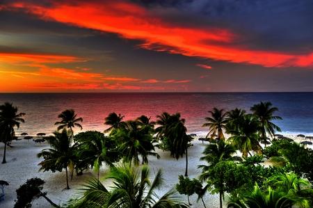holguin: Tropical Beach in Cuba, Holguin, HDR