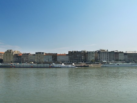 View on quay of Danube in Budapest. Hungary. Stock Photo - 7257869