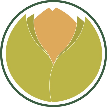 round emblem indicating the ecological product Stock Vector - 18369874