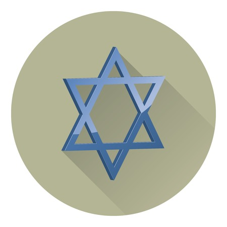 two dimensional shape: the six-pointed Star of David