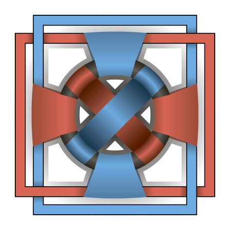 celt: Vector beautiful colored Celtic ornament. Weaving patterns.