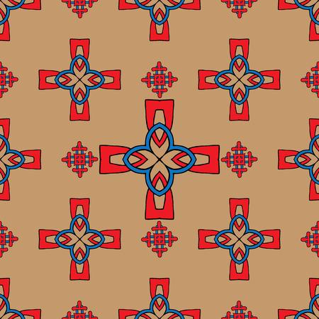 keltische muster: Vektor-Hintergrund mit keltischem Muster für Design