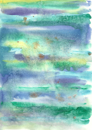 Colorful bright watercolor abstract background