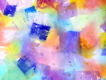 Colorful watercolor background. Bright background painted in watercolor.