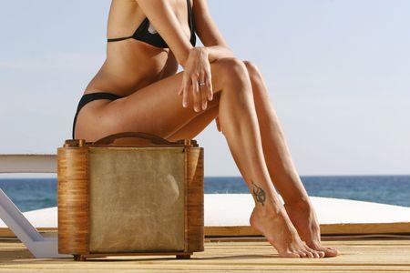 pies sexis: Cerca de la ni�a  's piernas