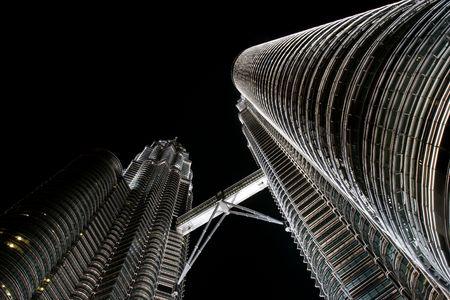 petronas: Torres Petronas de noche