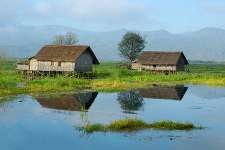 turismo ecologico: zanco casas en el lago