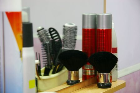 barber work place, shallow DOF Stock Photo - 2287538