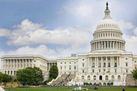 US Capitol in Washington DC Stock Photo