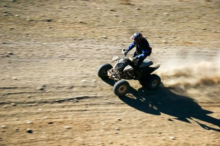supercross: quad racer en route