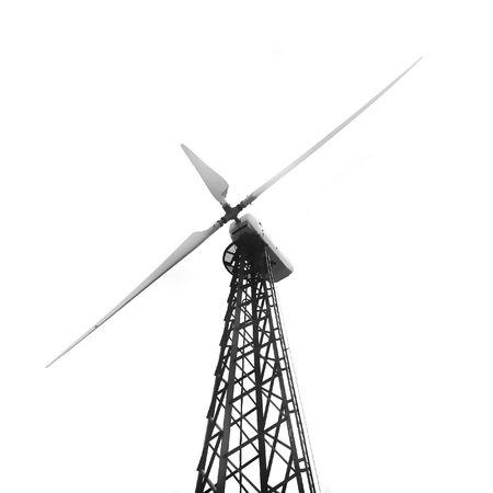 windturbine over wit