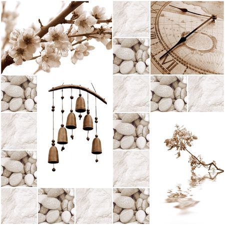 colletion of zen-like images