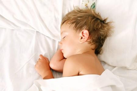 malady: portrait of sleeping boy