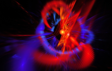 reminiscent: Abstract background reminiscent of magnetic fields. Fractal art graphics