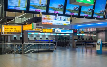 schiphol: Amsterdam Schiphol International Airport The Netherlands interior.
