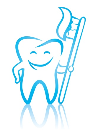 dientes caricatura: tooth_with_toothbrush (39). jpg