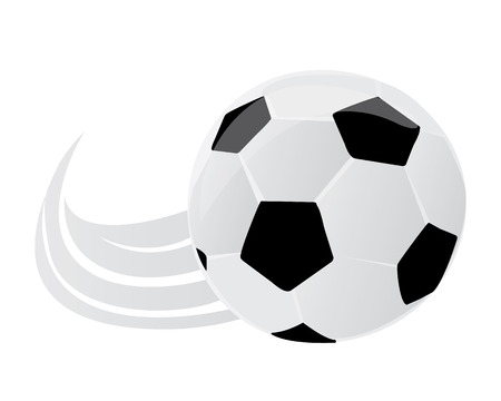 Vector illustration of a soccer ball. Football style. Can be used for invitations, gifts, leaflets, brochures.