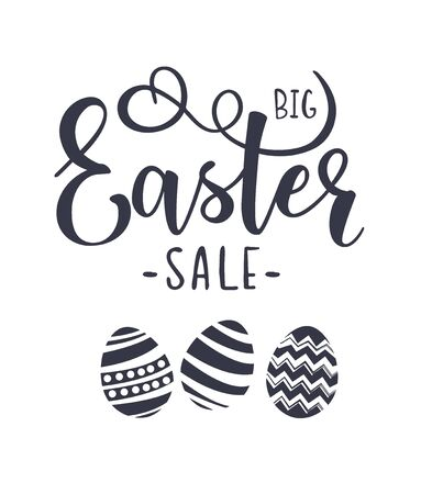 Cute lettering Big Easter Sale