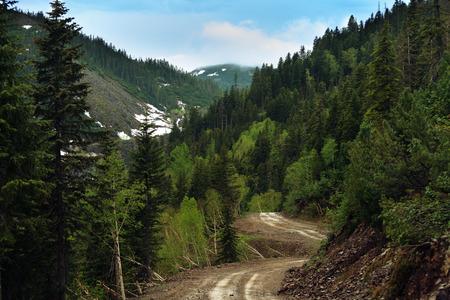 gory: Gory Ridge Miao Chan in Estremo Oriente russo. Archivio Fotografico
