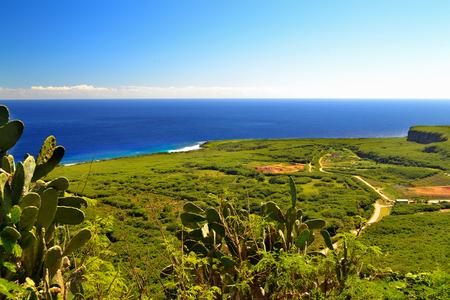 Beautiful holiday on the island of Saipan. The beautiful island of Saipan. Stock Photo