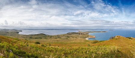 The Russian Far Eastern Peninsula named Krabbe. The bay on the peninsula named Krabbe on the Sea of Japan.