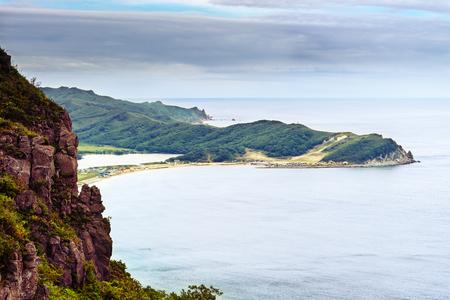 Japanese Sea. Nice view of the bay Shepalovo.