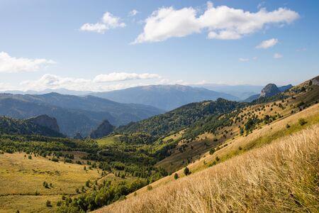 Caucasian mountains of the Republic of Adygea, Krasnodar region. South of Russia. Beautiful foothills of the Caucasus, Krasnodar region.  版權商用圖片
