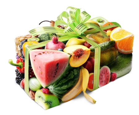 Fruit gift Stock Photo - 5308833