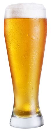 adjuvant: Beer; Objects on white background Stock Photo