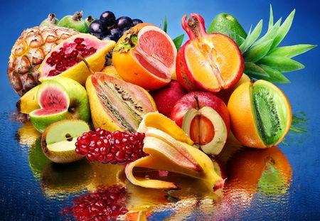 gleams: exotic fruit