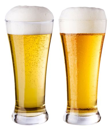 beerglass: Light beer