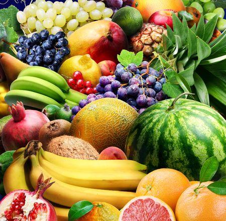 melon fruit: Fruits Stock Photo