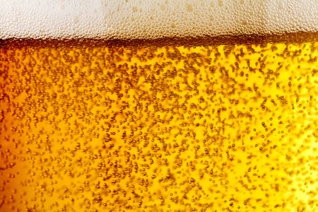 taphouse: bubbles of beer Stock Photo